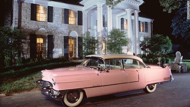Elvis' pink Cadillac -- which inspired many a song lyric -- can be seen at Graceland in Tennessee, during January celebrations to honor what would have been the King's 80th birthday.