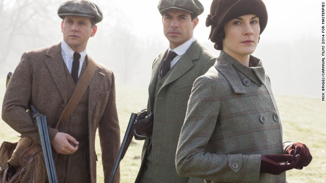 "Viewers are eager to see what happens next on beloved historical drama ""Downton Abbey."" The Jazz Age-fueled season 5 premieres on PBS Sunday, January 4, with Allen Leech as Tom Branson, Tom Cullen as Lord Gillingham, and Michelle Dockery as Lady Mary. Click through our gallery to see other favorite historical shows coming up in 2015."