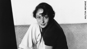Luise Rainer, seen here in the late 1930s, was the first actress to win back-to-back Oscars.