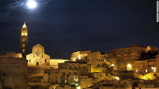 """Matera's ancient religious structures were used as backdrops in Mel Gibson's """"The Passion of the Christ."""""""