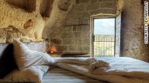 Cave with a view: Grotte della Civita.