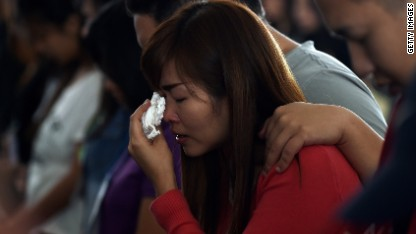 AirAsia families enter difficult phase