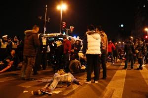Fatal estampida en Shanghái