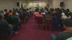 Church loses 1/3 of members on flight