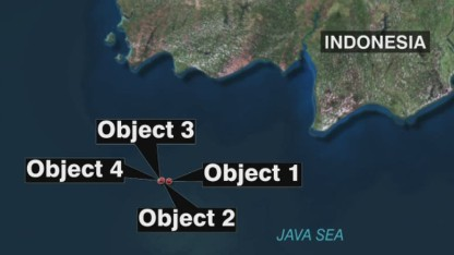 Divers: Visibility zero in water at AirAsia crash site