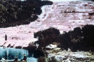 Terrazas Rosa y Blanca (Nueva Zelandia)