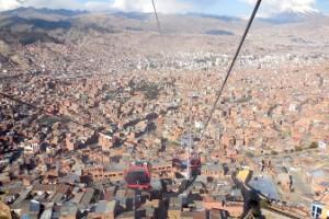 Teleférico de La Paz (La Paz, Bolivia)