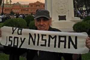 Protestas por la muerte de Nisman