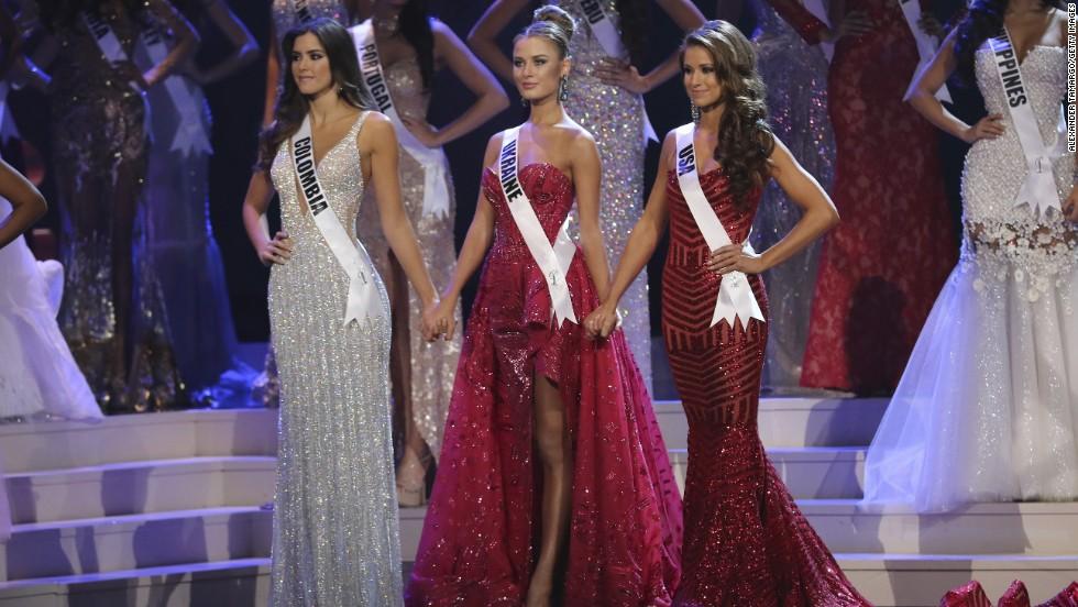 La colombiana Paulina Vega es la nueva Miss Universo