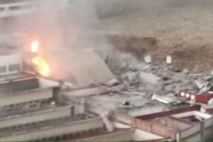 Emergencia por explosión en el DF