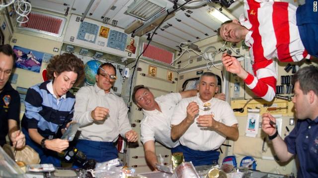 La dieta de la NASA