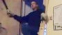 'The Shining'-esque machete attack caught on cam