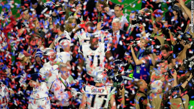 Las mejores fotos del Super Bowl XLIX