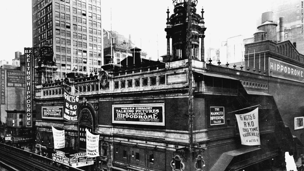 Teatro Hippodrome de Nueva York