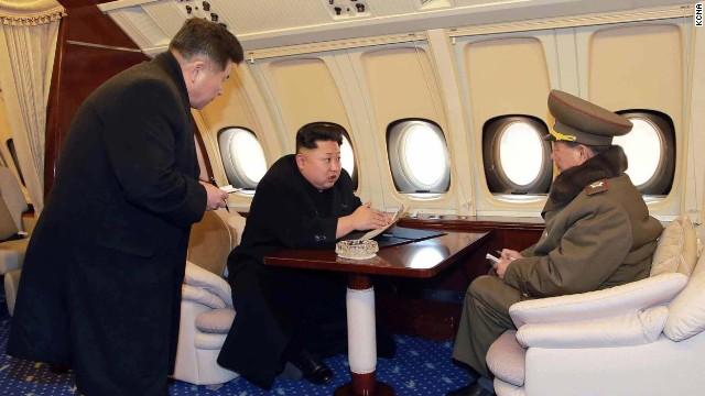 El lujoso avión de Kim Jong Un