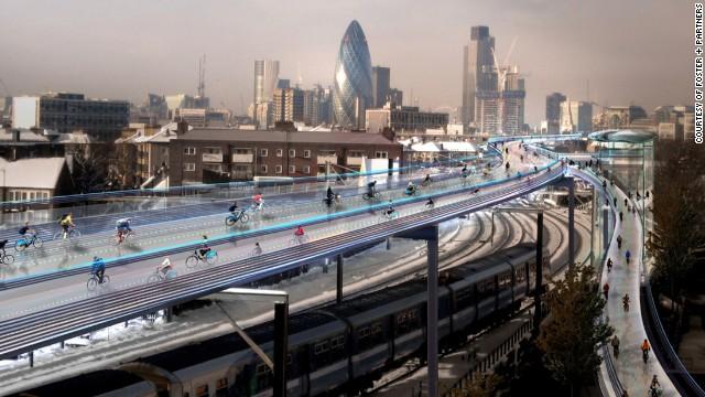 Increíbles supercarreteras para bicicletas