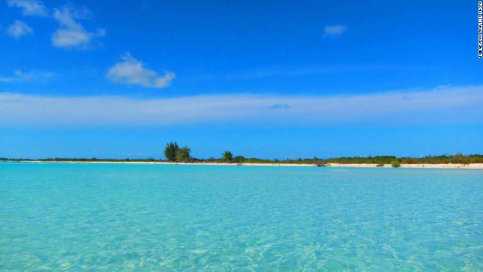 4. Playa Paraíso, Cuba