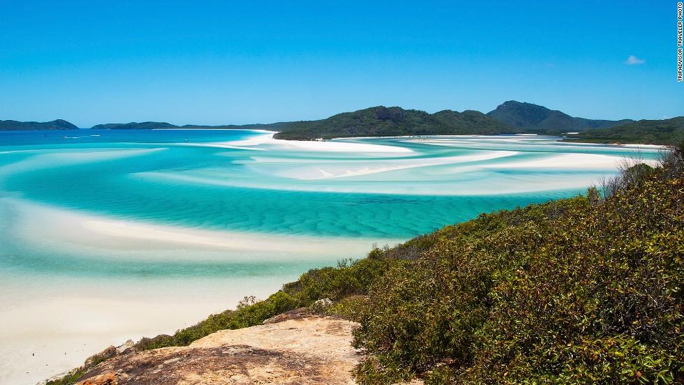 9. Playa Whitehaven, Australia