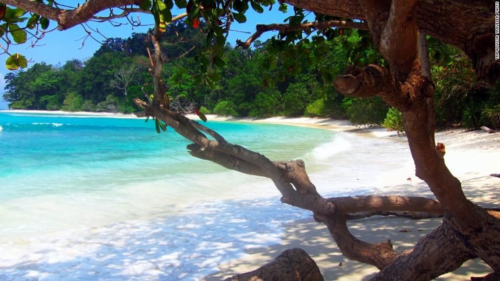 12. Playa de Radhanagar, India