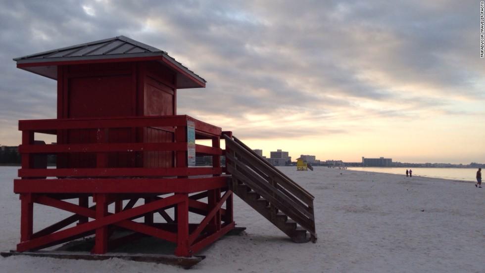 14. Siesta Beach, Florida