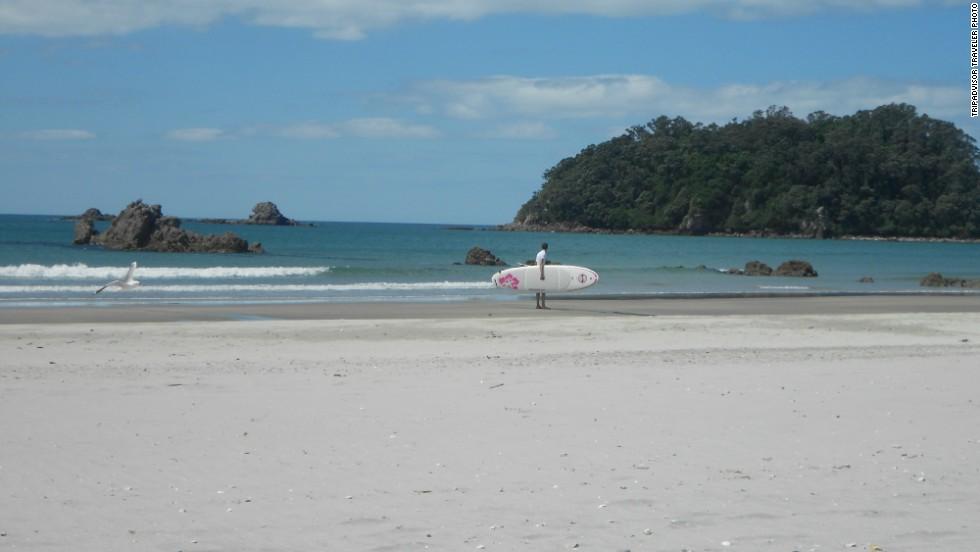 25. Maunganui Beach, Nueva Zelandia