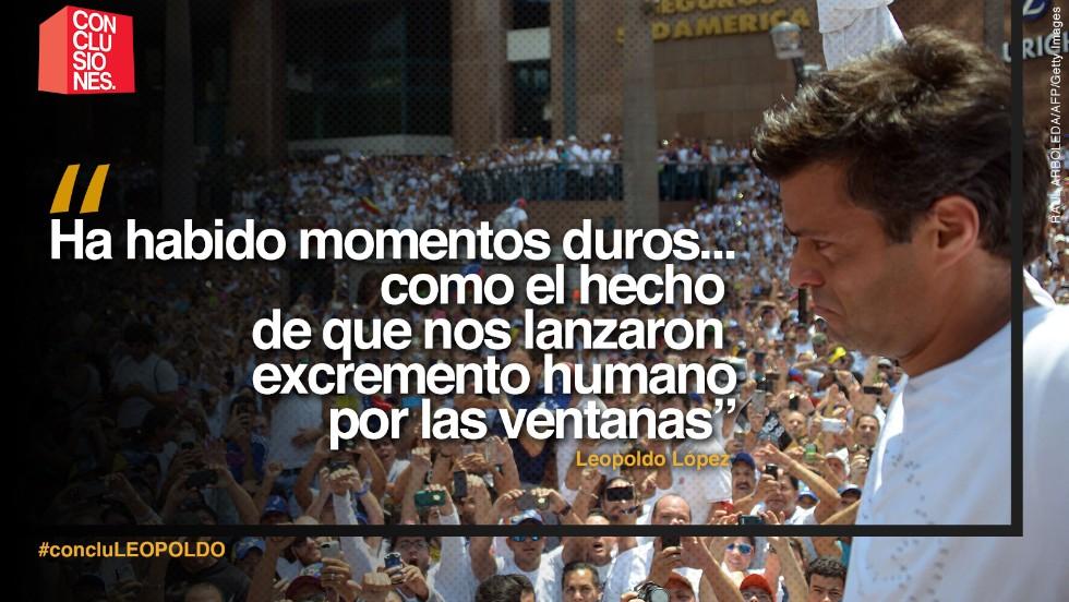 Leopoldo López: Un año después