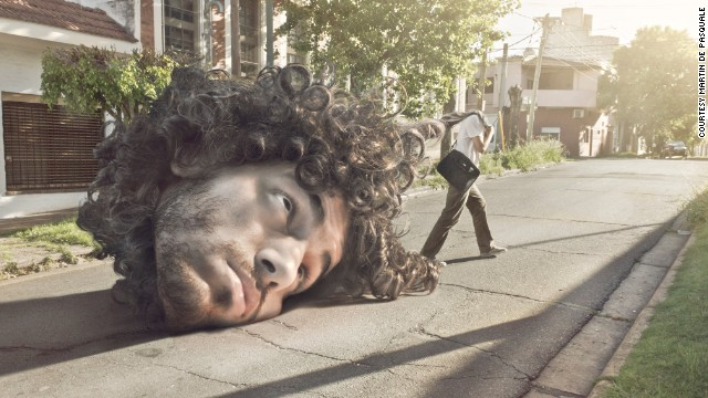 El argentino de las imágenes imposibles con Photoshop