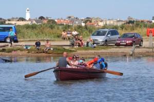 Ferry Walberswick (Suffolk, Reino Unido)