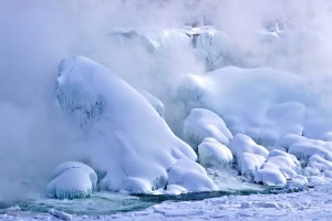 Cataratas del Niágara, congeladas