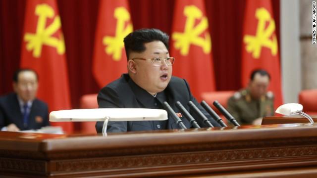 El nuevo peinado de Kim Jong Un