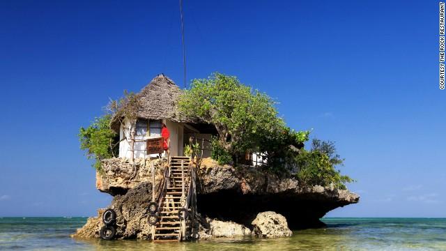 The Rock (Zanzíbar, Tanzania)