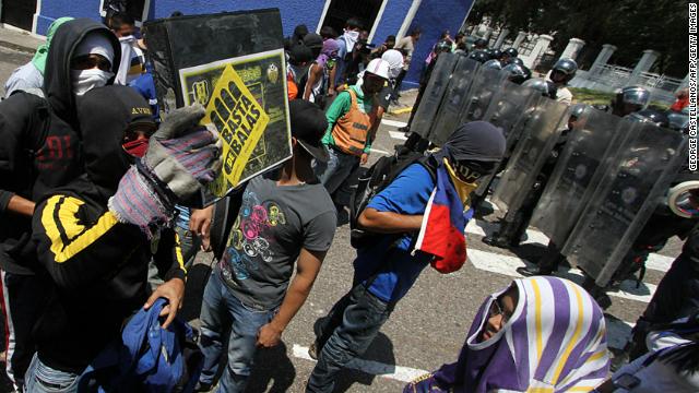 Un muerto en una manifestación en San Cristóbal