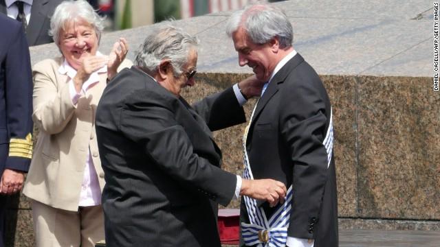 Toma de posesión en Uruguay