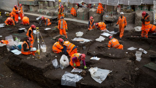 'Bedlam:' 3,000 skeletons dug up at old site