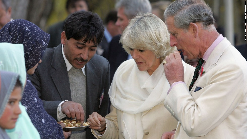 El príncipe Carlos y Camila, duquesa de Cornwall