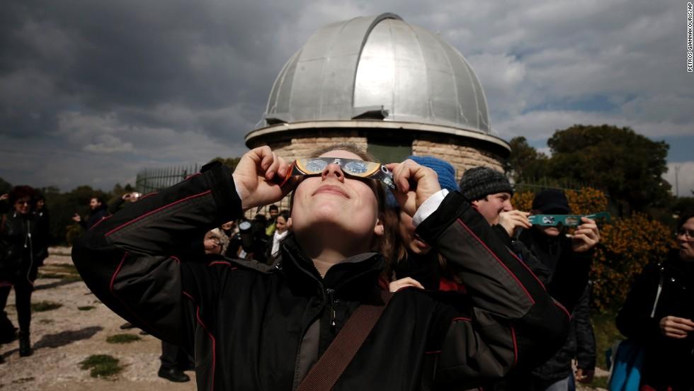 Eclipse de sol en los cielos de Europa