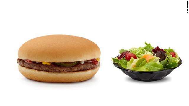 Lo que los nutricionistas piden en McDonald's