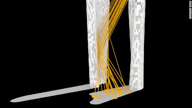 """La torre """"sin sombra"""""""