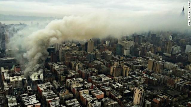 Explosión en el East Village de Manhattan
