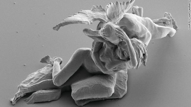 Increíbles esculturas microscópicas