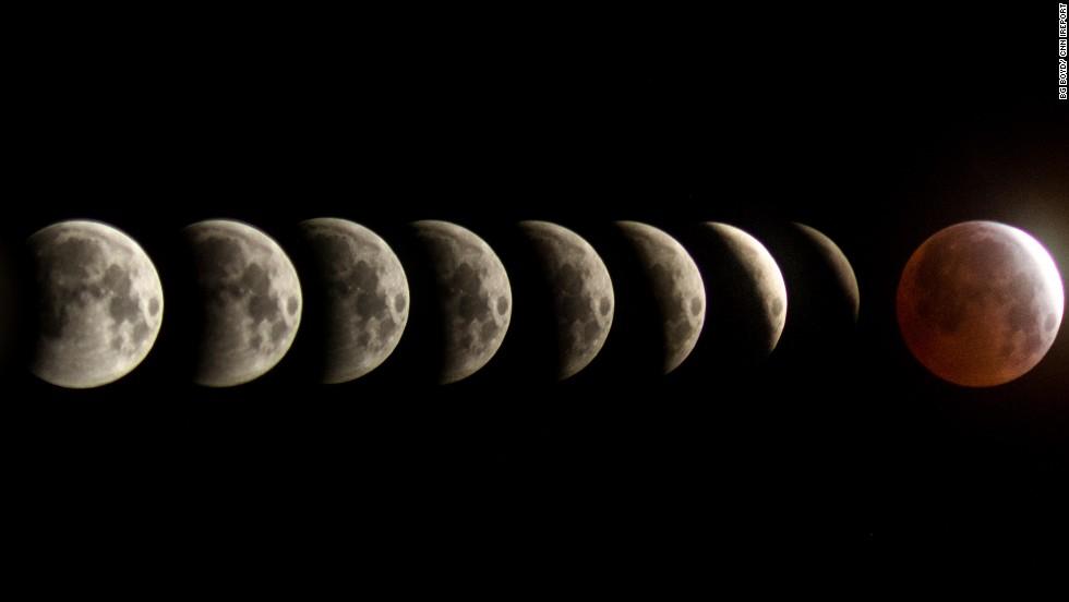 Tus fotos de la 'luna de sangre'