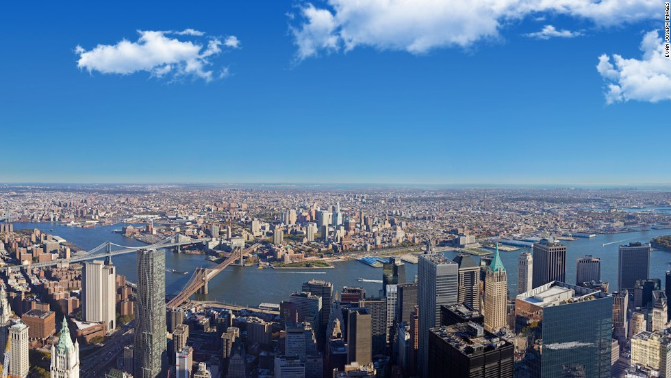 New York in panoramic form