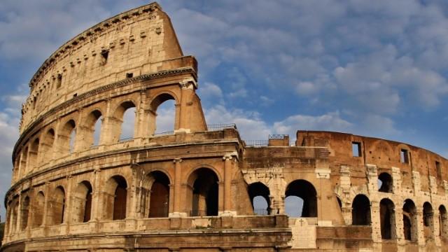El Coliseo de Roma, Italia
