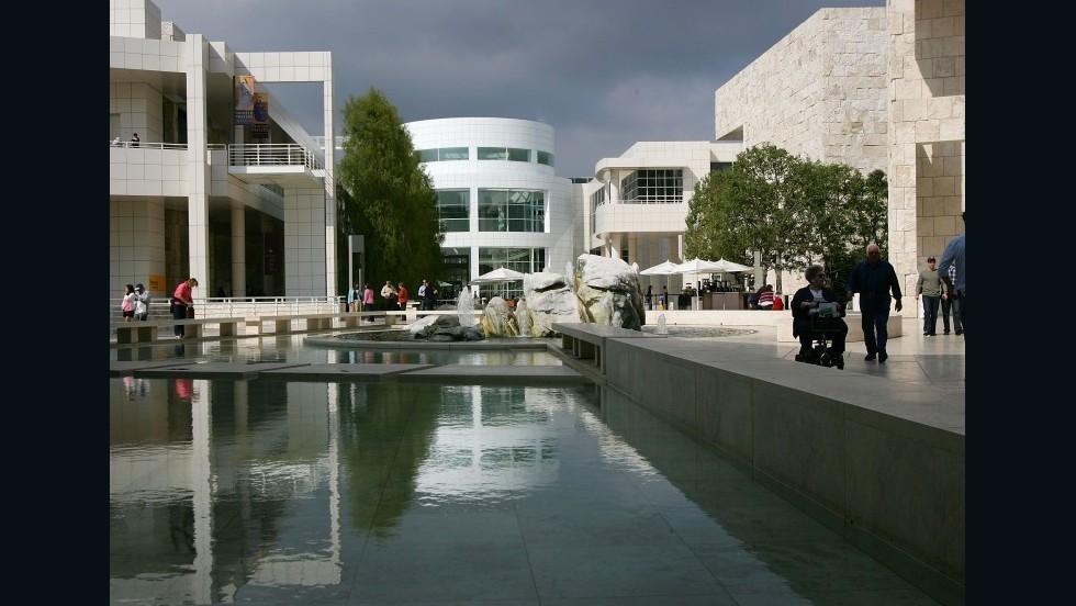Getty Center en Los Angeles, EE.UU.