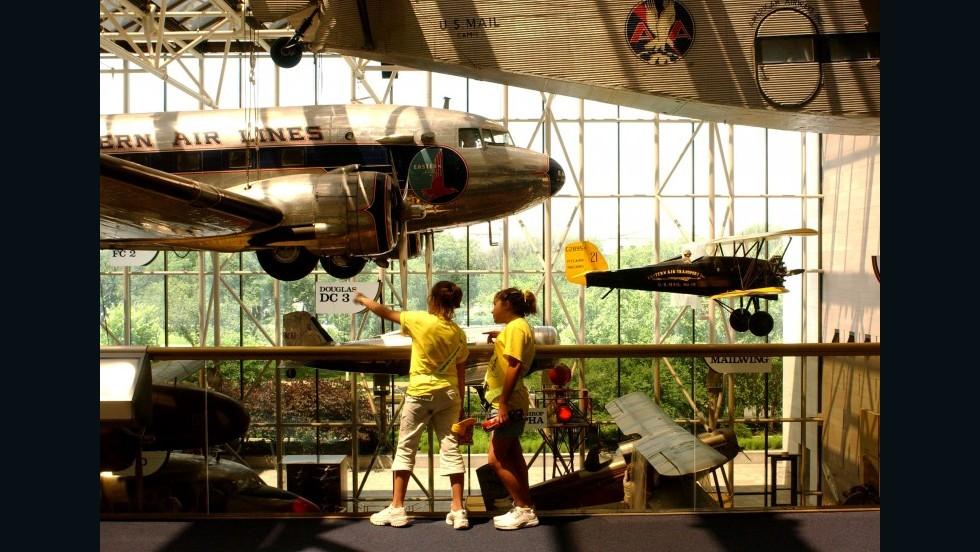 Museo Smithsonian del Aire y el Espacio, Washington D.C., EE.UU.