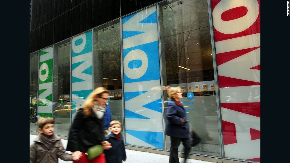 Museo de Arte Moderno (Moma) de Nueva York, EE.UU.