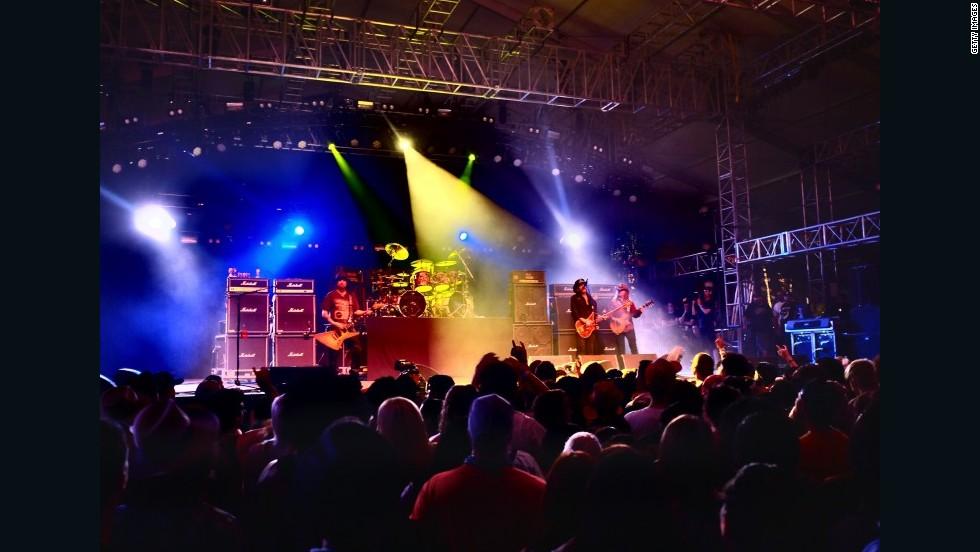 Festival Coachella, Californa, EE.UU.