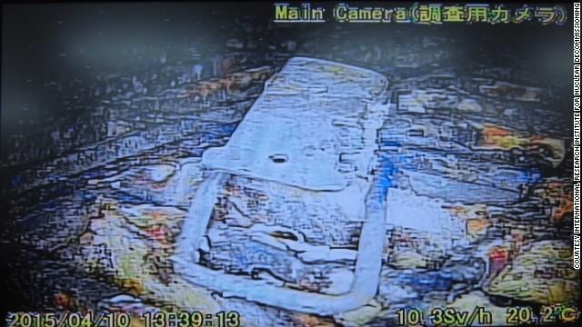 El robot abandonado en una planta nuclear