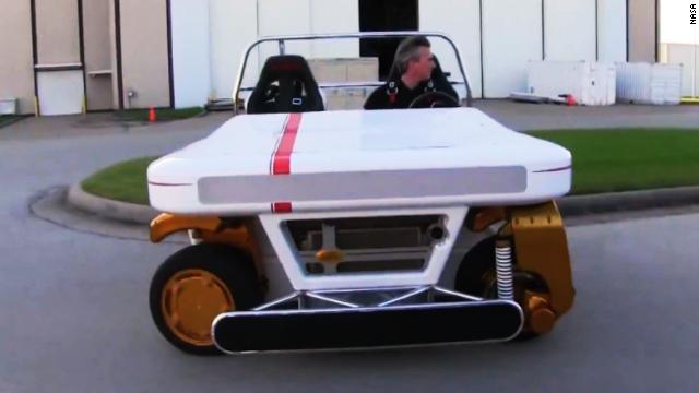 El auto del futuro de la NASA