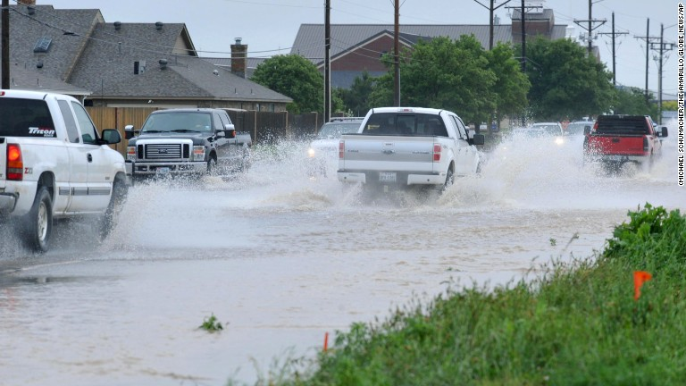 Oklahoma City sees record as storms deluge Oklahoma, Texas panhandle